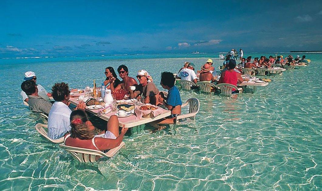 Tα 15 πιο περίεργα & συνάμα συναρπαστικά εστιατόρια στον κόσμο: Δίπλα σε καταρράκτη, στη θάλασσα, μέσα σε σπηλιά - Κυρίως Φωτογραφία - Gallery - Video