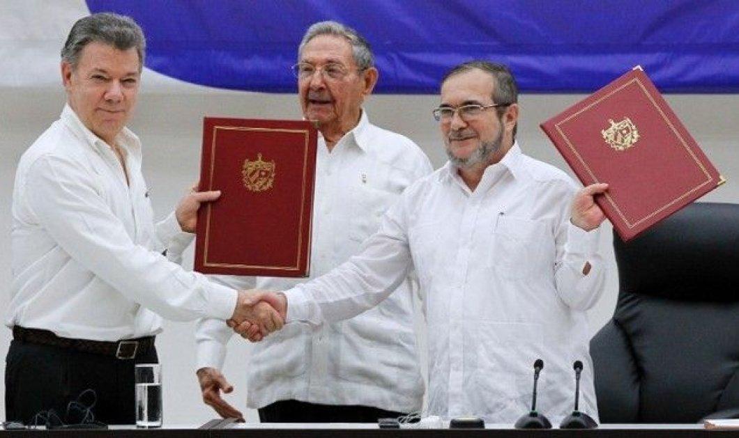 """Οι αντάρτες στην Κολομβία """"συμφώνησαν ομόφωνα"""" υπέρ της ειρήνης! Την Δευτέρα και επίσημα το τέλος ενός εμφύλιου 52 ετών! - Κυρίως Φωτογραφία - Gallery - Video"""