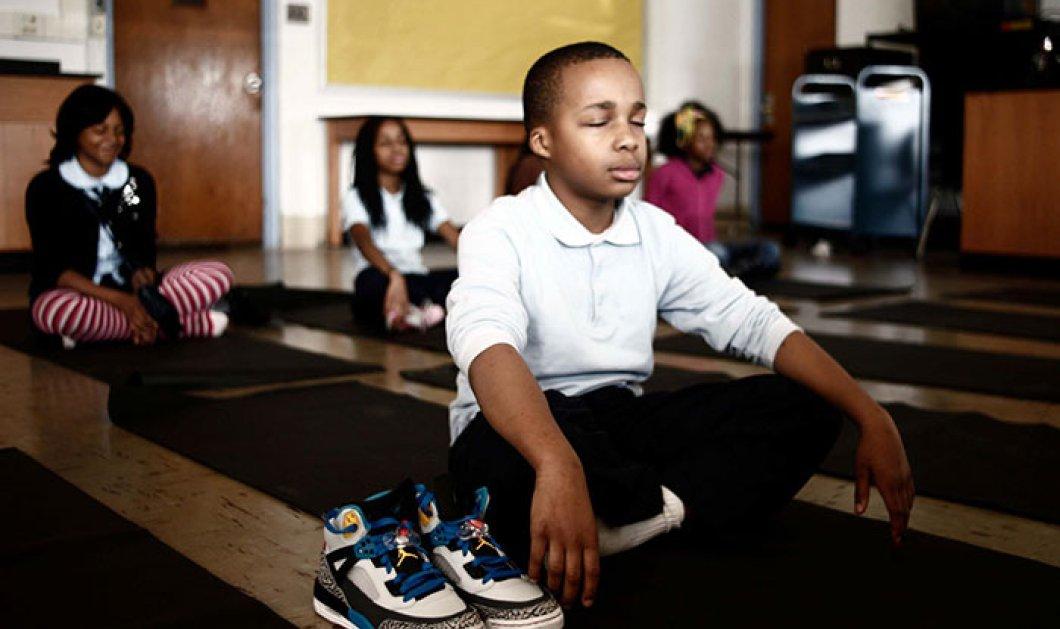 Σχολείο αντικαθιστά την τιμωρία με διαλογισμό! Τα αποτελέσματα εκπλήσσουν!  - Κυρίως Φωτογραφία - Gallery - Video