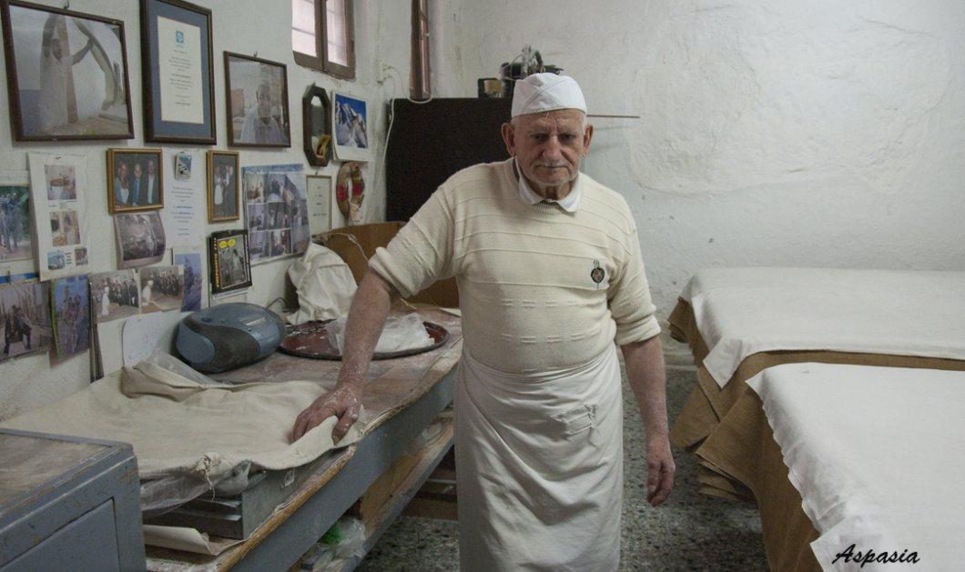 Made in Greece ο 82χρονος Γιώργος Χατζηπαράσχος: Φτιάχνει τα πιο ξακουστά κανταΐφια στην Κρήτη  - Κυρίως Φωτογραφία - Gallery - Video