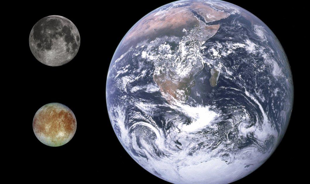 Σημαντικό εύρημα της ΝASA: H Ευρώπη του Δία έχει νερό - Πιθανότητες για ζωή στον δορυφόρο; - Κυρίως Φωτογραφία - Gallery - Video