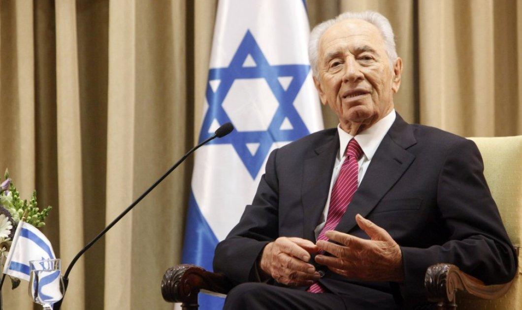 Εγκεφαλικό υπέστη ο πρώην πρόεδρος του Ισραήλ Σιμόν Πέρες - Σε τεχνητό κώμα - Κυρίως Φωτογραφία - Gallery - Video