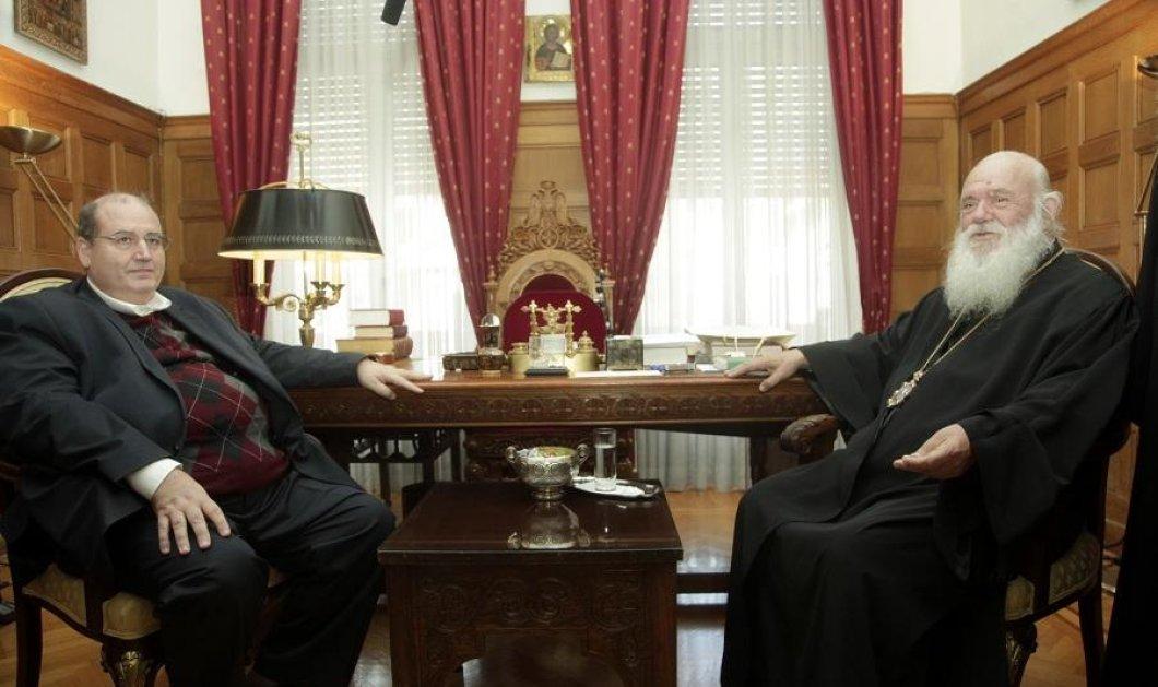 Φουντώνει η κόντρα μεταξύ Υπ. Παιδείας και Εκκλησίας της Ελλάδος - Ο Ν. Φίλης ζήτησε συνάντηση με τον Ιερώνυμο - Αρνήθηκε ο Αρχιεπίσκοπος - Κυρίως Φωτογραφία - Gallery - Video