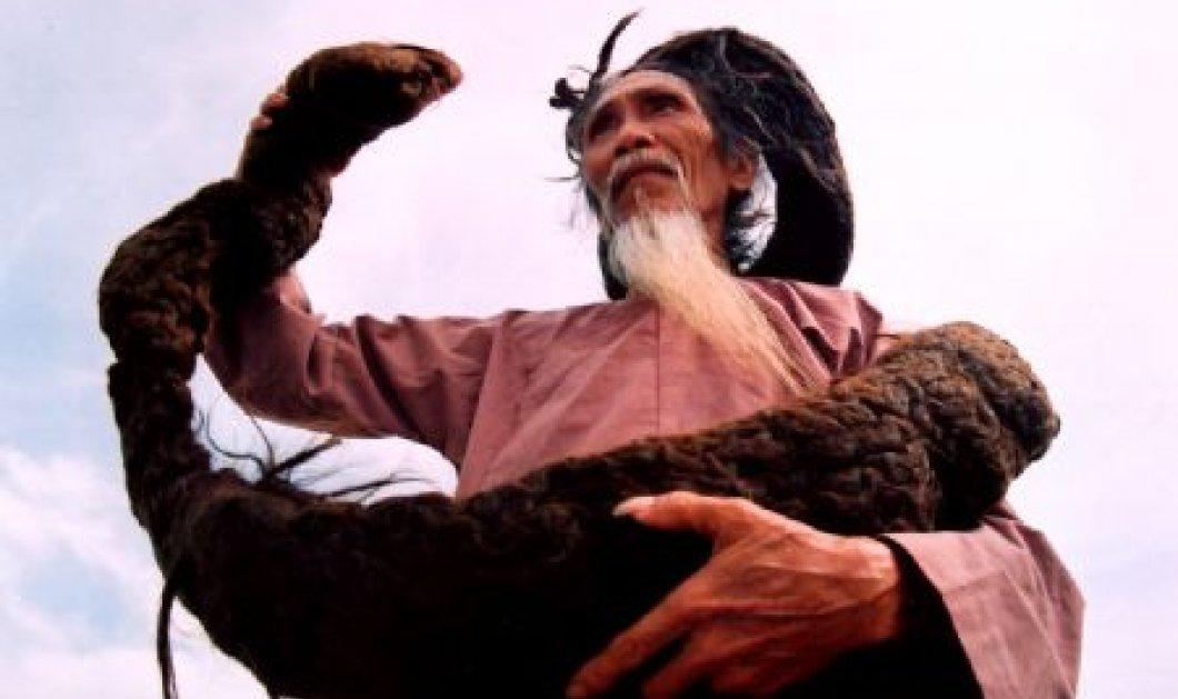 Ο Tran έχει τα πιο μακρυά μαλλιά στον κόσμο: Μήκος 6,5 μέτρα, βάρος 23 κιλά - Στο Γκίνες ο Βιετναμέζος - Κυρίως Φωτογραφία - Gallery - Video