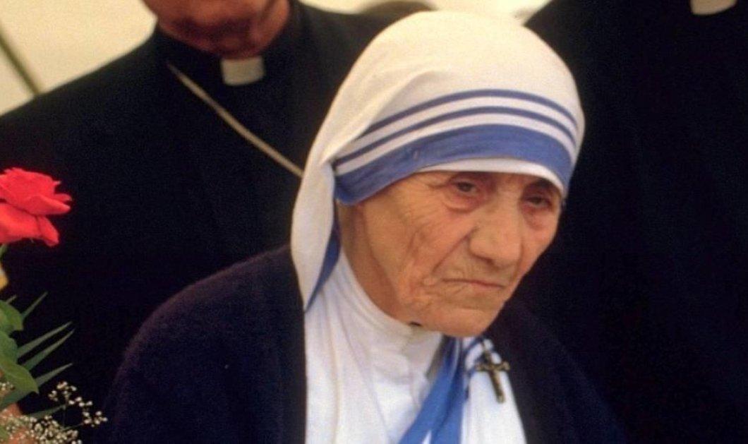 Αγία της Καθολικής Εκκλησίας η Μητέρα Τερέζα - Φωτό από την λαμπερή τελετή στο Βατικανό  - Κυρίως Φωτογραφία - Gallery - Video