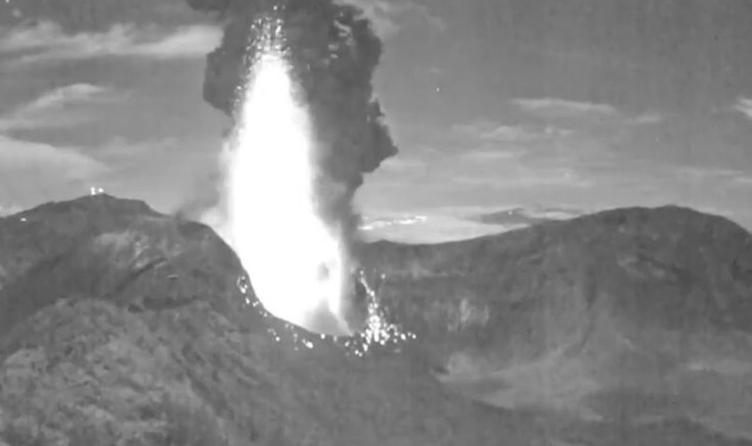 Βίντεο: Δείτε την εντυπωσιακή έκρηξη ηφαιστείου στην Κόστα Ρίκα - Κυρίως Φωτογραφία - Gallery - Video