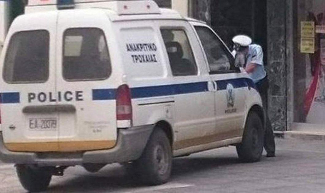 Απίστευτο περιστατικό στην Αλεξανδρούπολη: Τροχαία έκοψε κλήση ...στην τροχαία!  - Κυρίως Φωτογραφία - Gallery - Video
