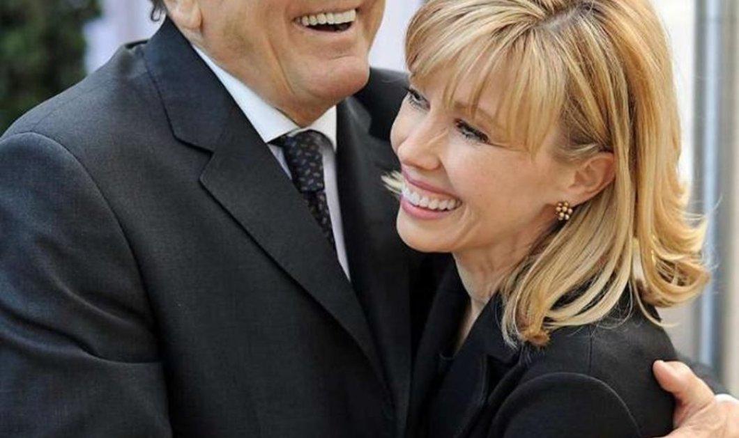 4ο διαζύγιο για τον Σοσιαλδημοκράτη Σρέντερ και την όμορφη δημοσιογράφο σύζυγο του Ντόρις Κοπφ - Κυρίως Φωτογραφία - Gallery - Video