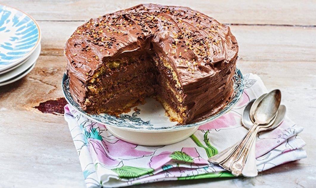 Φτιάξτε κέικ γεμιστό με πραλίνα με γεύση - κόλαση!!!! Η Αργυρώ μας δείχνει πως - Κυρίως Φωτογραφία - Gallery - Video