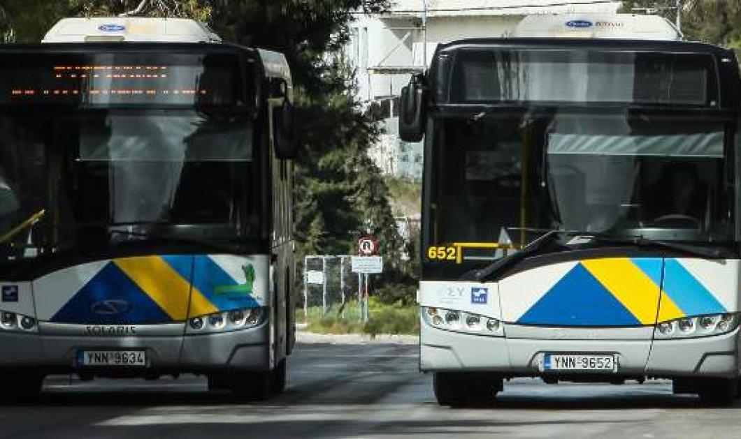 Με προβλήματα οι δημόσιες συγκοινωνίες στην Αθήνα την Πέμπτη - Στάσεις εργασίας για τα λεωφορεία του ΟΑΣΑ - Κυρίως Φωτογραφία - Gallery - Video