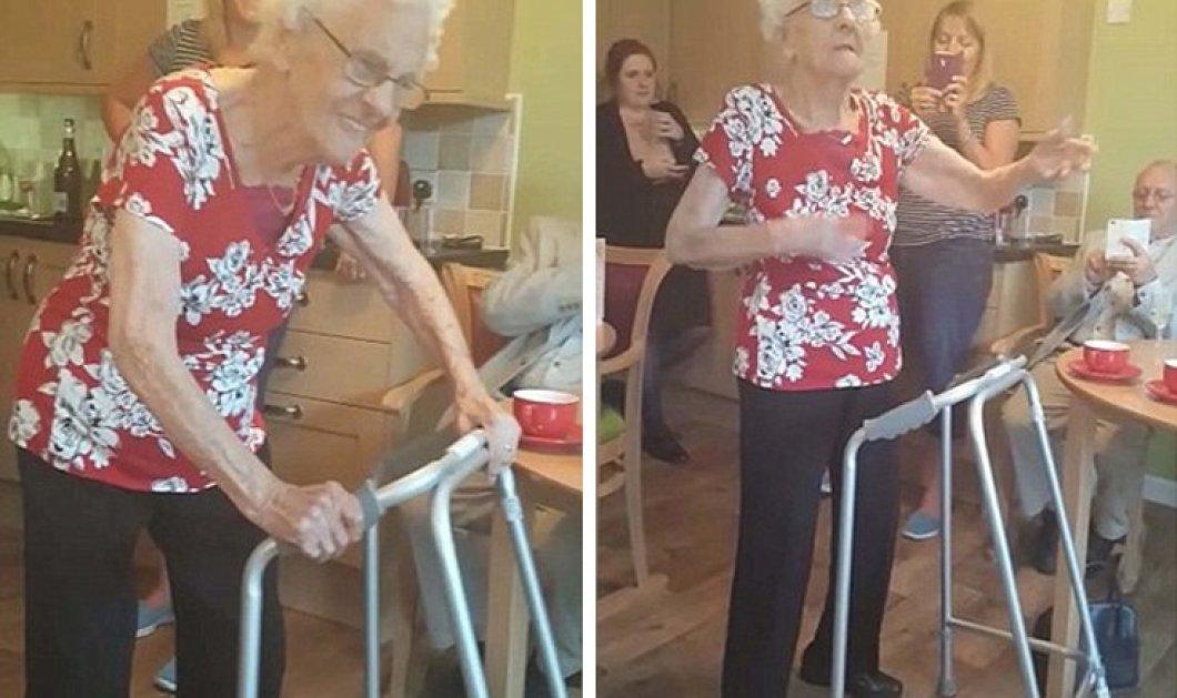 Top Woman η Doreen: Έκλεισε τα 100 & το γιόρτασε χορεύοντας ξέφρενα μακαρένα - Ε ρε γλέντια! - Κυρίως Φωτογραφία - Gallery - Video