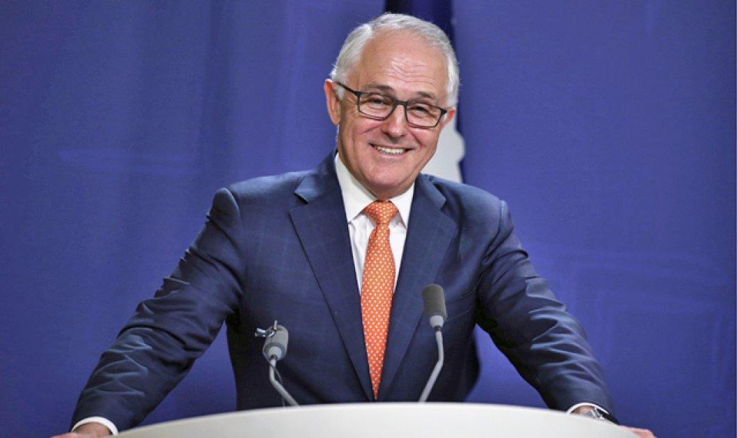 """Ουάου! """"Είμαι ο πιο ευτυχισμένος πρωθυπουργός"""" λέει ο Αυστραλός Τέρνμπουλ & ας ειναι κάτω στις δημοσκοπήσεις  - Κυρίως Φωτογραφία - Gallery - Video"""