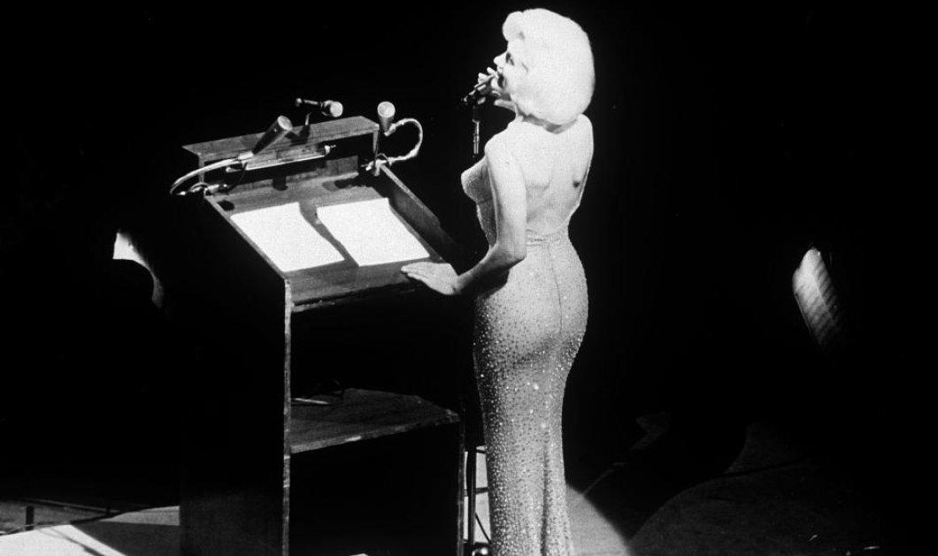 Σε δημοπρασία βγαίνει το διάσημο μπεζ φόρεμα της Μέριλιν Μονρόε από την βραδιά των γενεθλίων του Τζ. Φ. Κένεντι (φωτό,βίντεο)  - Κυρίως Φωτογραφία - Gallery - Video