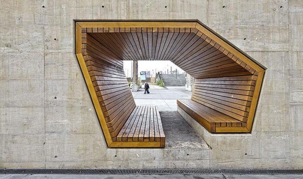 Η αρχιτεκτονική στην ακμή της: Υπέροχα παγκάκια που σε προκαλούν να κάτσεις πάνω τους!  - Κυρίως Φωτογραφία - Gallery - Video