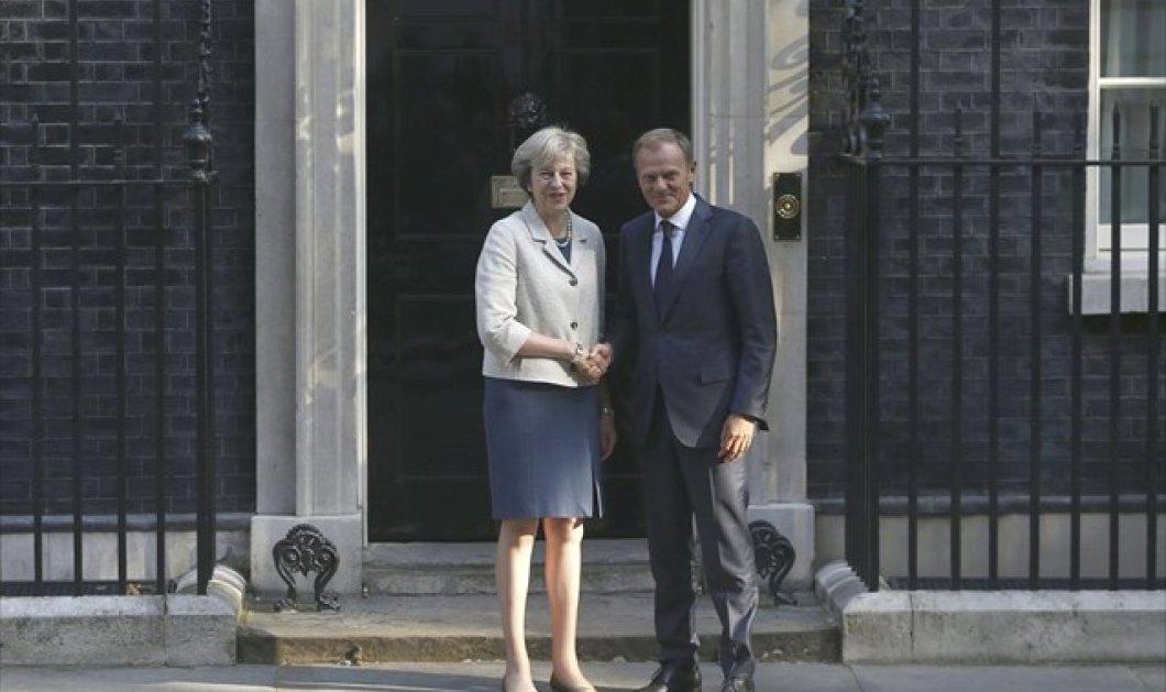 Ντόναλντ Τουσκ: Το συντομότερο δυνατό να αρχίσουν οι διαπραγματεύσεις για το Brexit  - Κυρίως Φωτογραφία - Gallery - Video