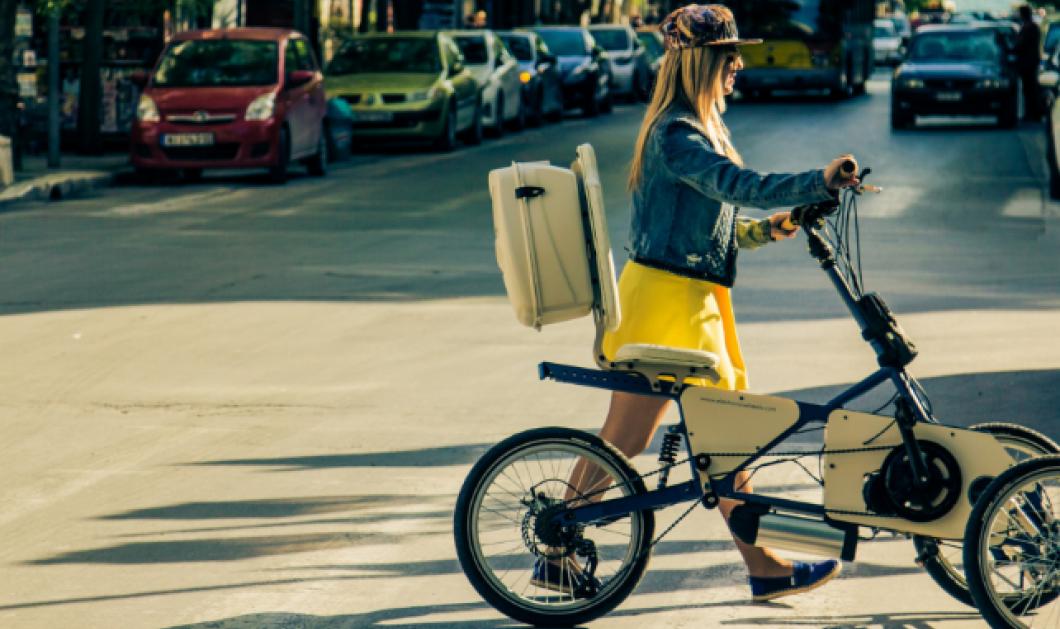 Made in Greece το ηλεκτρικό ποδήλατο που έφτιαξαν ο Παντελής & η Άννα -  Άνετο, ξεκούραστο, καινοτόμο - Κυρίως Φωτογραφία - Gallery - Video