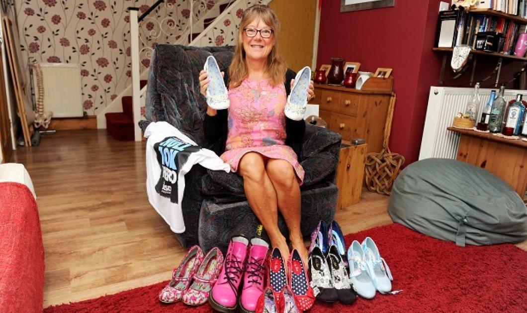 Story of the day: H 52χρονη Kath γλίτωσε από θαύμα - Πήγε στο γιατρό γιατί δεν της έμπαιναν τα παπούτσια & ανακάλυψε όγκο - Κυρίως Φωτογραφία - Gallery - Video