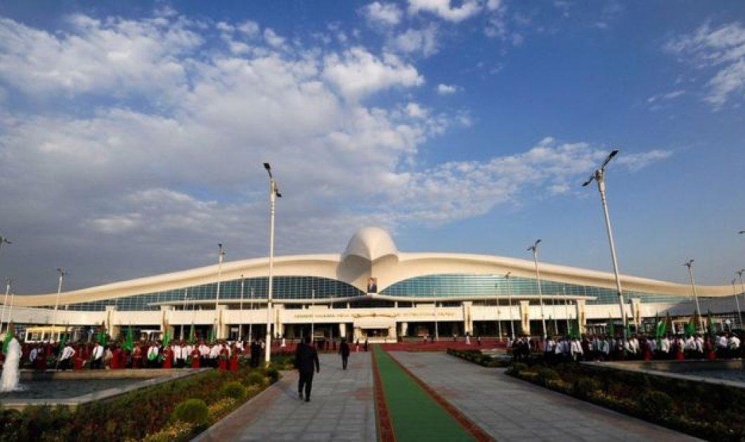 Το νέο 2,3 δις αεροδρόμιο σαν τεράστιο πουλί του Τουρκμενιστάν - Δείτε φωτό - Δεν το επισκέπτεται όμως κανείς.... - Κυρίως Φωτογραφία - Gallery - Video