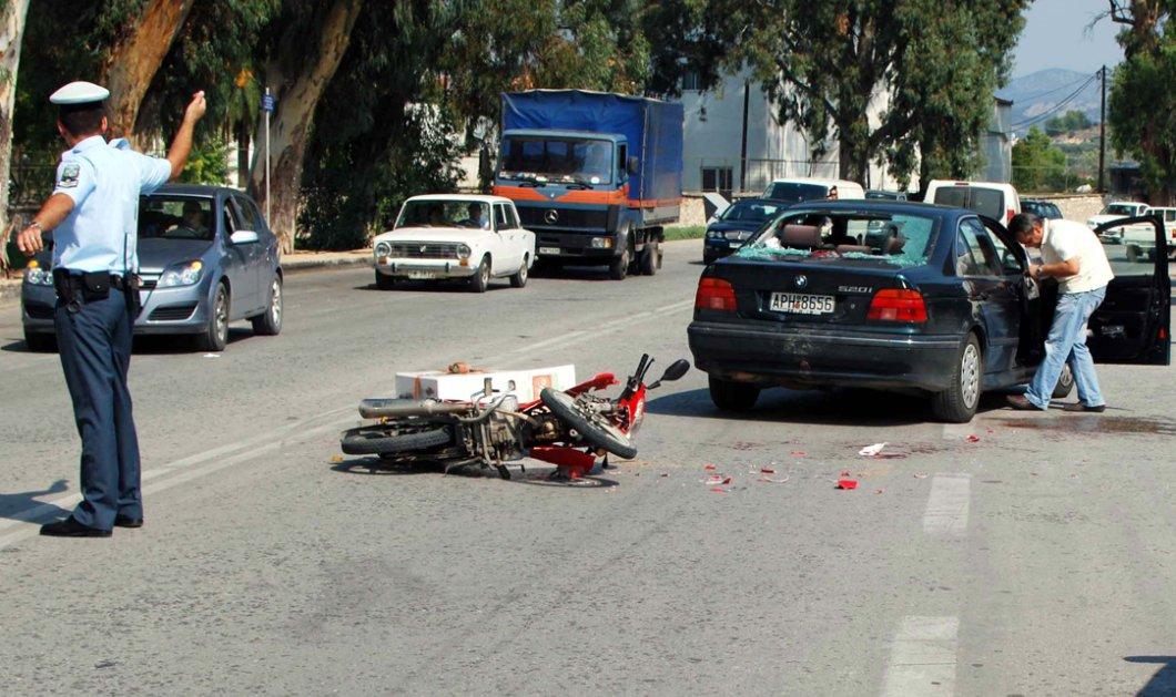 Μία νεκρή και εφτά τραυματίες σε τροχαία: Περίμεναν στη στάση και τους παρέσυρε μοτοσικλέτα που έκανε φιγούρες - Κυρίως Φωτογραφία - Gallery - Video