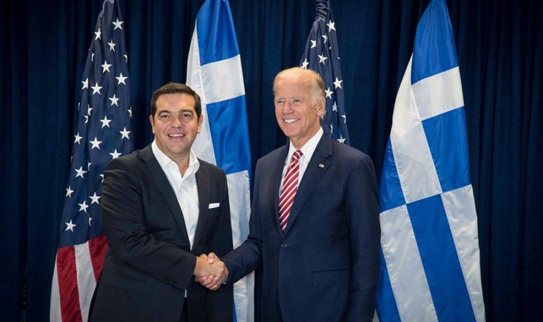Όλο το παρασκήνιο από τη συνάντηση Τσίπρα - Μπάιντεν: Τι είπαν για χρέος & Κυπριακό  - Κυρίως Φωτογραφία - Gallery - Video