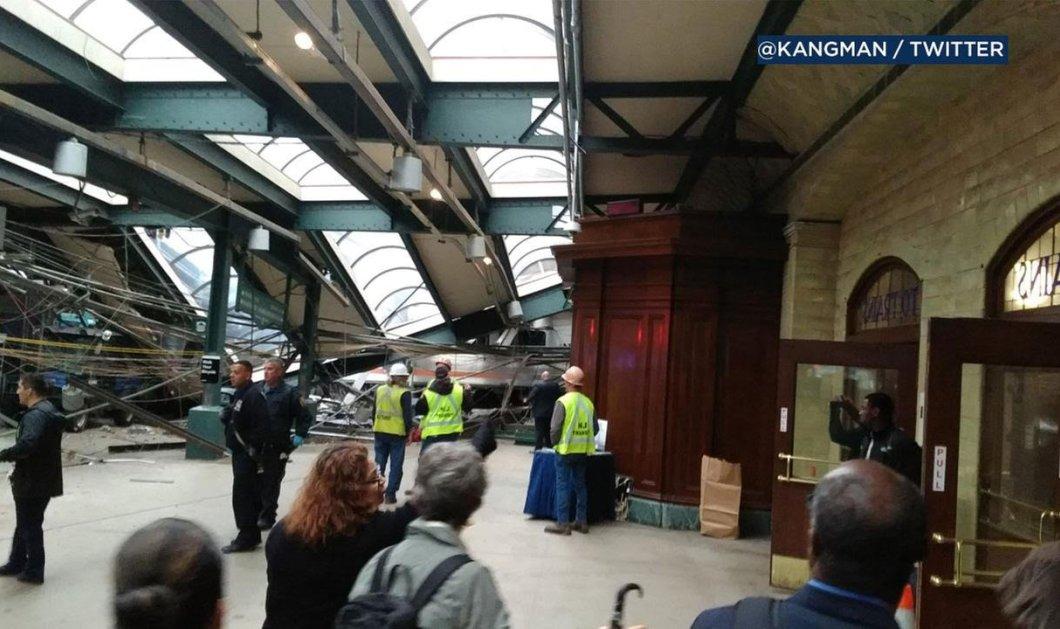 Συνταρακτικές εικόνες από το τρομερό σιδηροδρομικό δυστύχημα με 130 τραυματίες & 3 νεκροί στο Νιου Τζέρσεϊ - Φώτο - Κυρίως Φωτογραφία - Gallery - Video