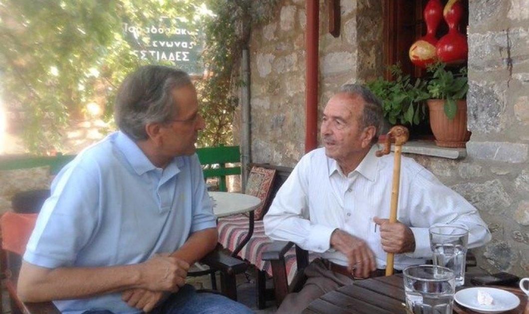 "O 93χρονος ""μπαρμπά-Μίχος"" που έκανε τον Αντώνη Σαμαρά να δακρύσει -  Διαβάστε την ιστορία του - Κυρίως Φωτογραφία - Gallery - Video"