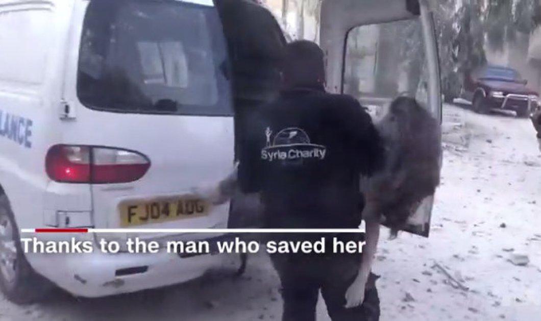 Βίντεο: Ο αβάσταχτος πόνος του πολέμου- Η 10χρονη Ντόχα από το Χαλέπι... - Κυρίως Φωτογραφία - Gallery - Video