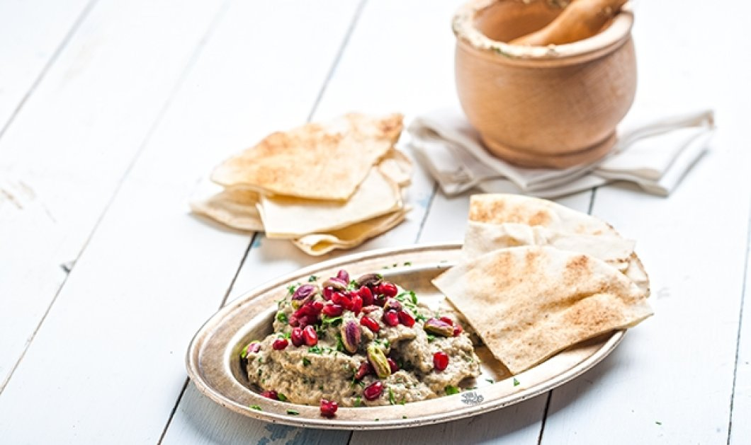 Baba Ganoush: Η πιο διάσημη μελιτζανοσαλάτα του κόσμου με συνταγή της Αργυρώς - Κυρίως Φωτογραφία - Gallery - Video