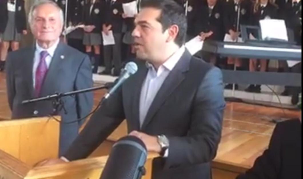 Bίντεο: ''Αλέξη μην προδώσεις την Ελλάδα'' - Η αναπάντεχη συνάντηση του πρωθυπουργού ομογενή στην Αστόρια  - Κυρίως Φωτογραφία - Gallery - Video