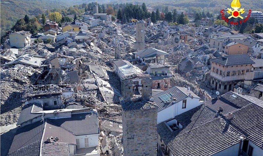 Ιταλία: 30.000 άστεγοι από το χτύπημα του Εγκέλαδου - Διαλυμένες πόλεις, συντρίμμια και φόβος σε όλη την χώρα (φωτό) - Κυρίως Φωτογραφία - Gallery - Video