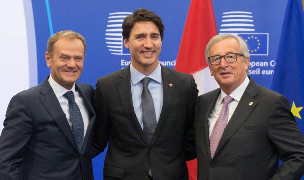 Υπογράφηκε η εμπορική συμφωνία CETA μεταξύ Καναδά και ΕΕ - Τι κέρδισαν οι Βέλγοι για λογαριασμό της Ευρώπης - Κυρίως Φωτογραφία - Gallery - Video