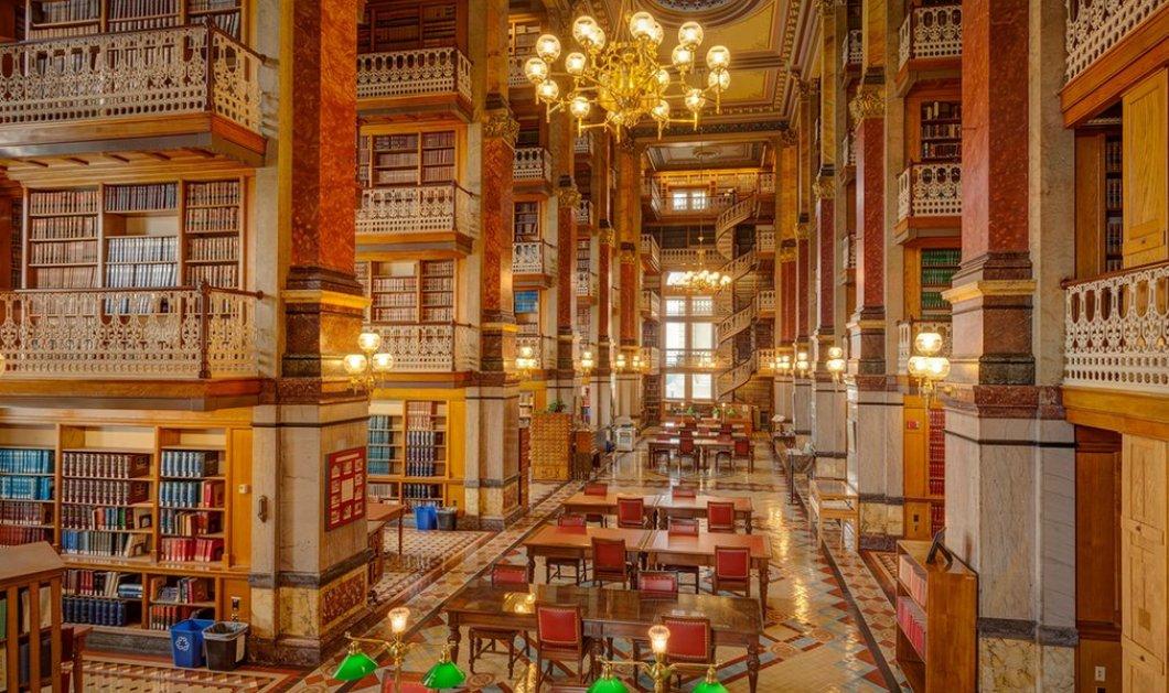 Οι ναοί του βιβλίου: Ο μαγευτικός κόσμος των ομορφότερων βιβλιοθηκών της Αμερικής  - Κυρίως Φωτογραφία - Gallery - Video
