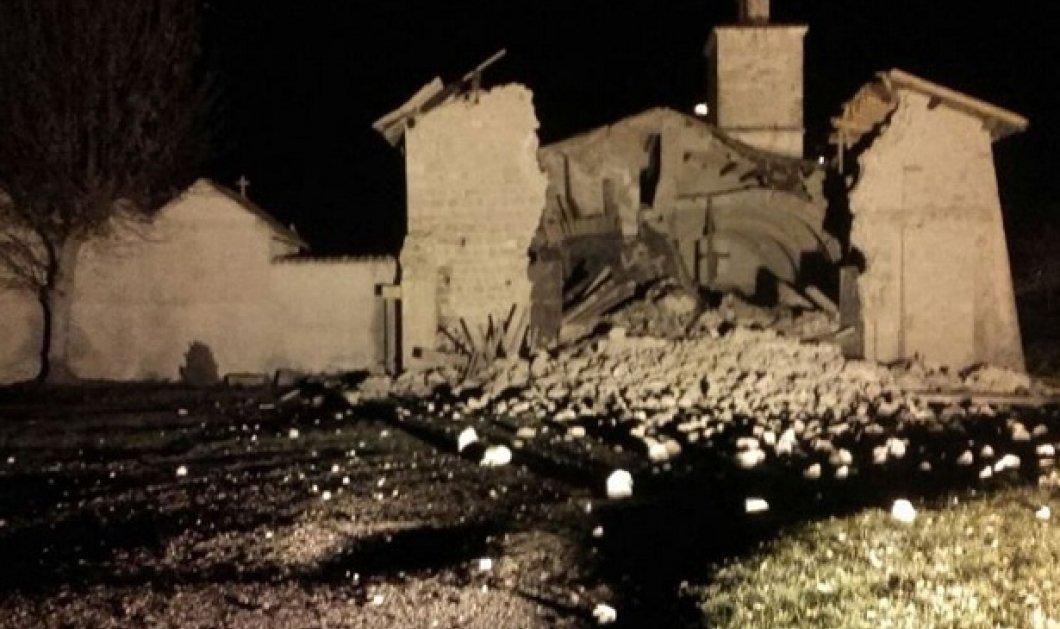"""Στους ρυθμούς των ρίχτερ """"χορεύει"""" η Ιταλία - Δύο ισχυρές σεισμικές δονήσεις συγκλόνισαν τη χώρα - Κυρίως Φωτογραφία - Gallery - Video"""