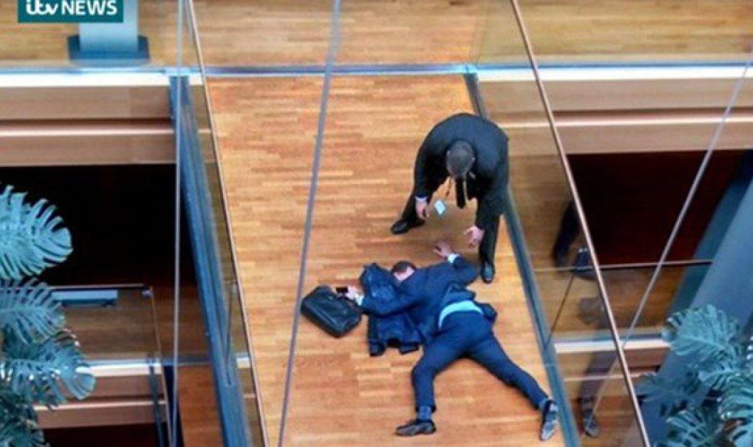 Άγριος καυγάς στην Ευρωβουλή: Στο νοσοκομείο ο Στίβεν Γουλφ του Ukip, μετά από διαπληκτισμό με μέλη του κόμματός του! - Τι ανέφερε - Κυρίως Φωτογραφία - Gallery - Video