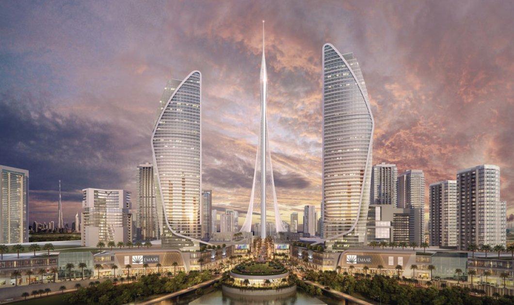 Στο Ντουμπάι ο ψηλότερος πύργος του κόσμου: Με θέα που ζαλίζει & design μοναδικό - Έτοιμος το 2020 - Κυρίως Φωτογραφία - Gallery - Video