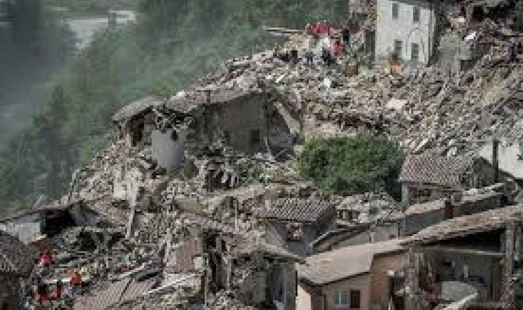 Χουλιάρας, Παπαζάχος, Παπαδόπουλος: Τα 3 σερί εξάρια στην Ιταλία ανησυχούν τους σεισμολόγους - Κυρίως Φωτογραφία - Gallery - Video