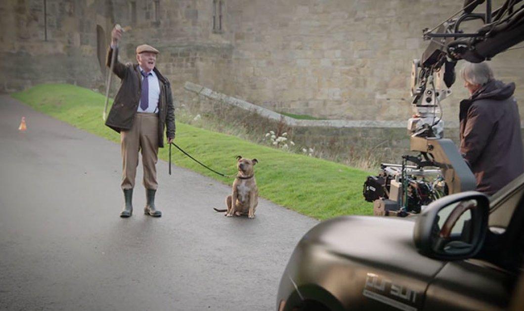 """Η υπέροχη ιστορία της Freya: Η """"πιο μοναχική σκυλίτσα του κόσμου"""" έγινε πρωταγωνίστρια δίπλα στον Άντονι Χόπκινς και βρήκε νέα οικογένεια - Κυρίως Φωτογραφία - Gallery - Video"""