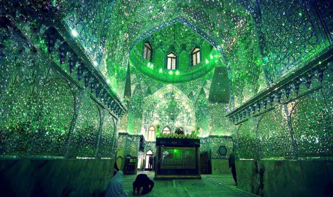 Μοιάζει με κανονικό τζαμί αλλά στην πραγματικότητα είναι «Βασιλιάς του Φωτός»  - Το Shah Cheragh του Ιραν σε υπέροχα κλικς  - Κυρίως Φωτογραφία - Gallery - Video
