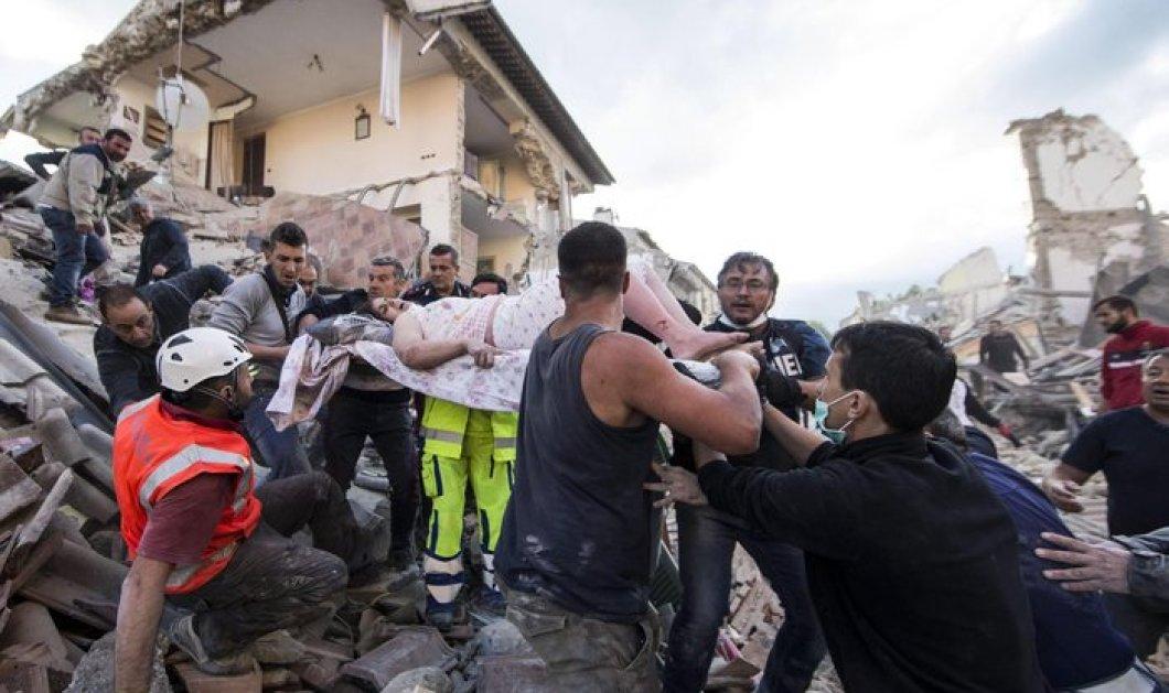 Σείεται η Ιταλία: Συγκλονιστικές φωτό από το πέρασμα του Εγκέλαδου - 1 νεκρός & μεγάλες καταστροφές - Κυρίως Φωτογραφία - Gallery - Video
