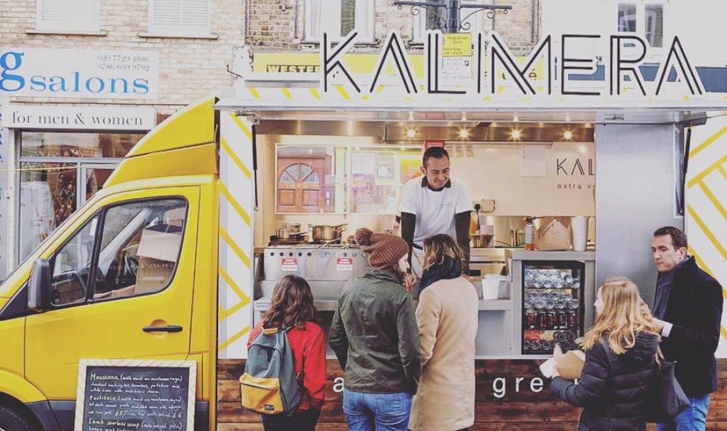 Kalimera Λονδίνο: Έφυγε από την τράπεζα & τώρα Made In Greece φαγάκι σε φορτηγάκι στην καρδιά της Βρετανίας - Κυρίως Φωτογραφία - Gallery - Video
