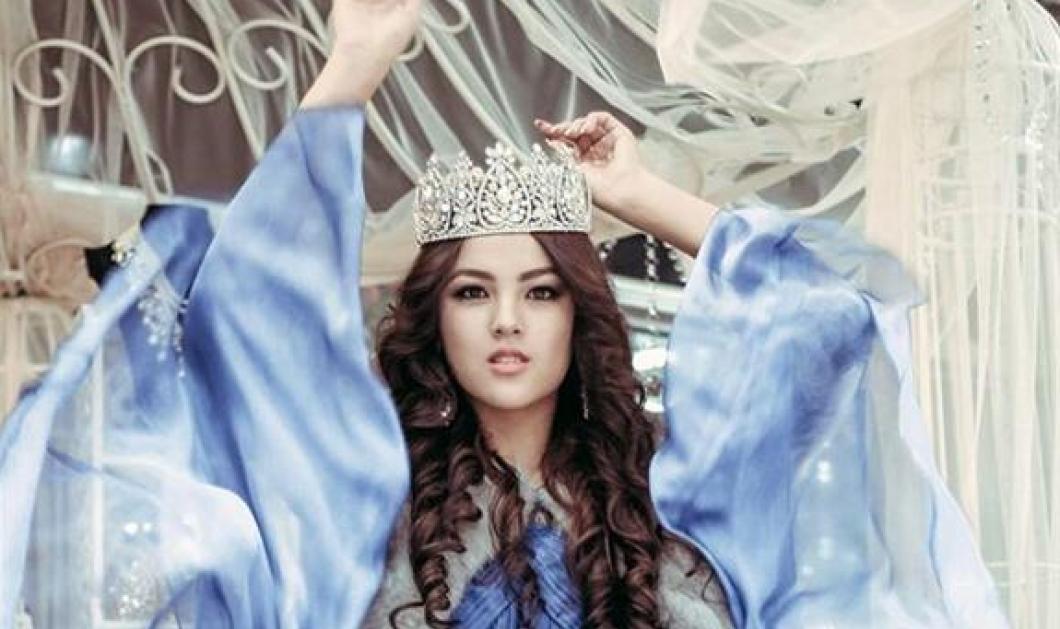 Από τα καλλιστεία Miss World στο τσαντόρ - Η πανέμορφη Μις Κιργιστάν κάλυψε τα πάντα: Είμαι χαρούμενη μουσουλμάνα - Κυρίως Φωτογραφία - Gallery - Video