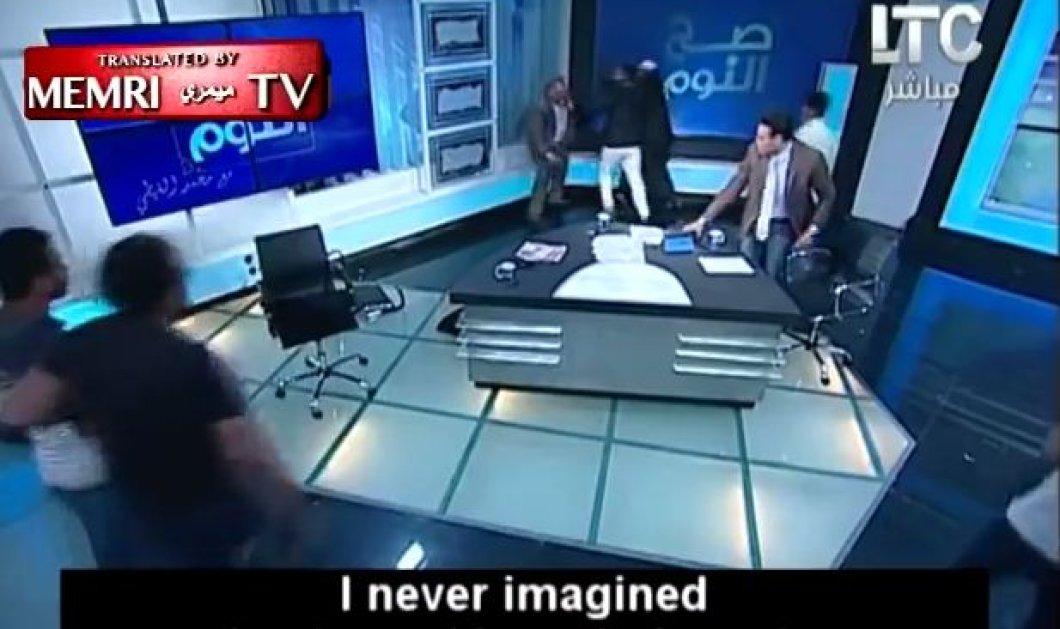 Έπεσε άγριο ξύλο σε τηλεοπτική εκπομπή στην Αίγυπτο για τη χρήση της μαντίλας - Κυρίως Φωτογραφία - Gallery - Video