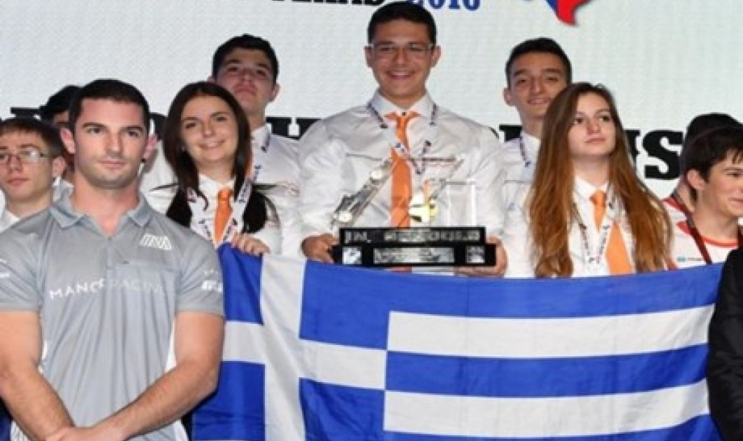 Good News: Σε Έλληνες μαθητές από την Θεσ/νίκη το χρυσό μετάλλιο σχεδιασμού μοντέλων Formula 1 - Κυρίως Φωτογραφία - Gallery - Video