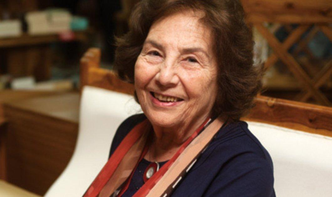 Η Άλκη Ζέη μιλάει & λέει: Στα ελληνικά σχολεία τα παιδιά δεν παίρνουν τις γνώσεις που χρειάζονται - Κυρίως Φωτογραφία - Gallery - Video