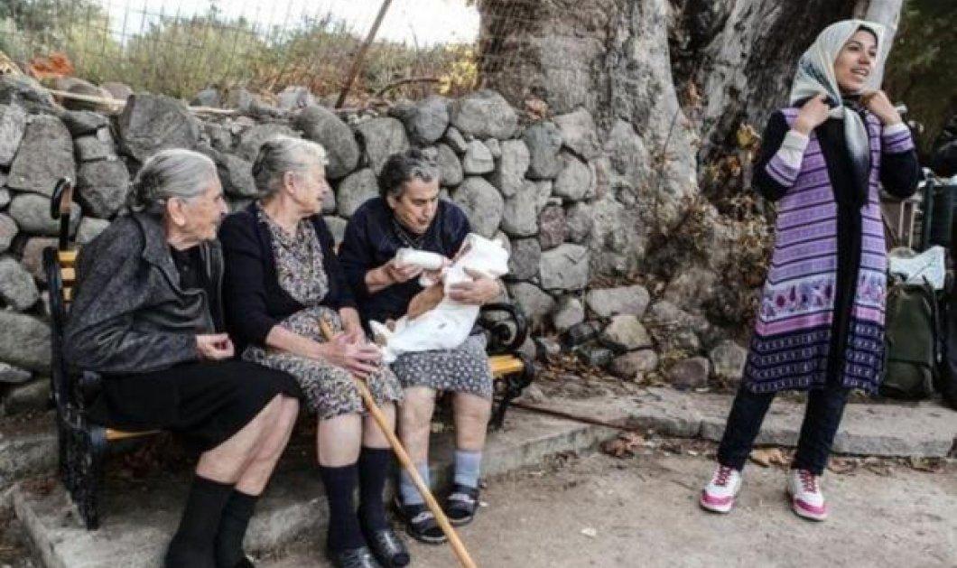 """Η γιαγιά Μηλίτσα από τη Λέσβο χάρηκε που έχασε το Νόμπελ! """"Είχα μεγάλη γκρίνια στο χωριό - Επιτέλους, τώρα θα βρω την ησυχία μου"""" - Κυρίως Φωτογραφία - Gallery - Video"""