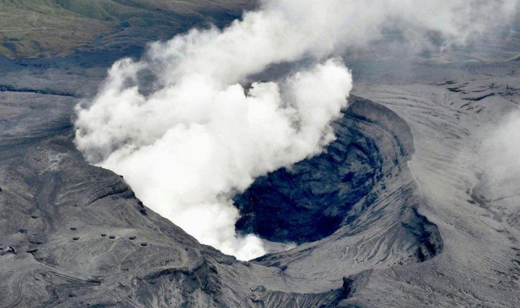 Βίντεο: Η εντυπωσιακή έκρηξη ηφαιστείου του όρους Άσο στην Ιαπωνία - Τόνοι τέφρας κάλυψαν τα πάντα - Κυρίως Φωτογραφία - Gallery - Video