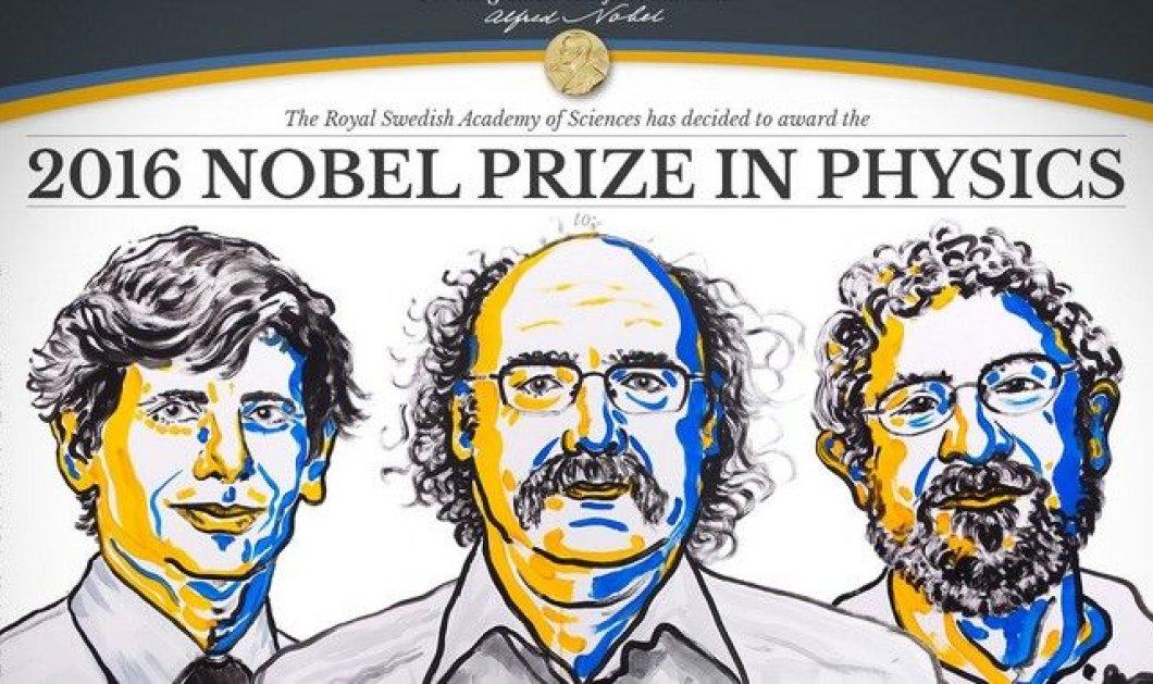 Νόμπελ Φυσικής στους David Thouless, Duncan Haldane και Michael Kosterlitz - Ανακάλυψαν παράξενες μορφές ύλης - Κυρίως Φωτογραφία - Gallery - Video