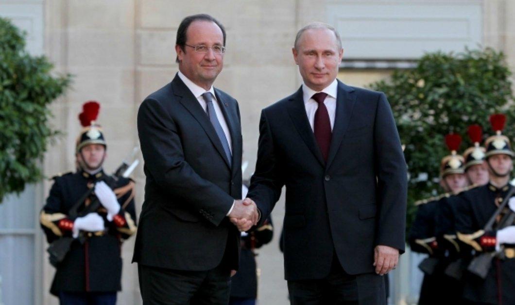 Ο Πούτιν ''ακυρώνει'' τον Ολάντ: Αναβάλλει ''επ' αόριστον'' την επίσκεψη στο Παρίσι - Κυρίως Φωτογραφία - Gallery - Video