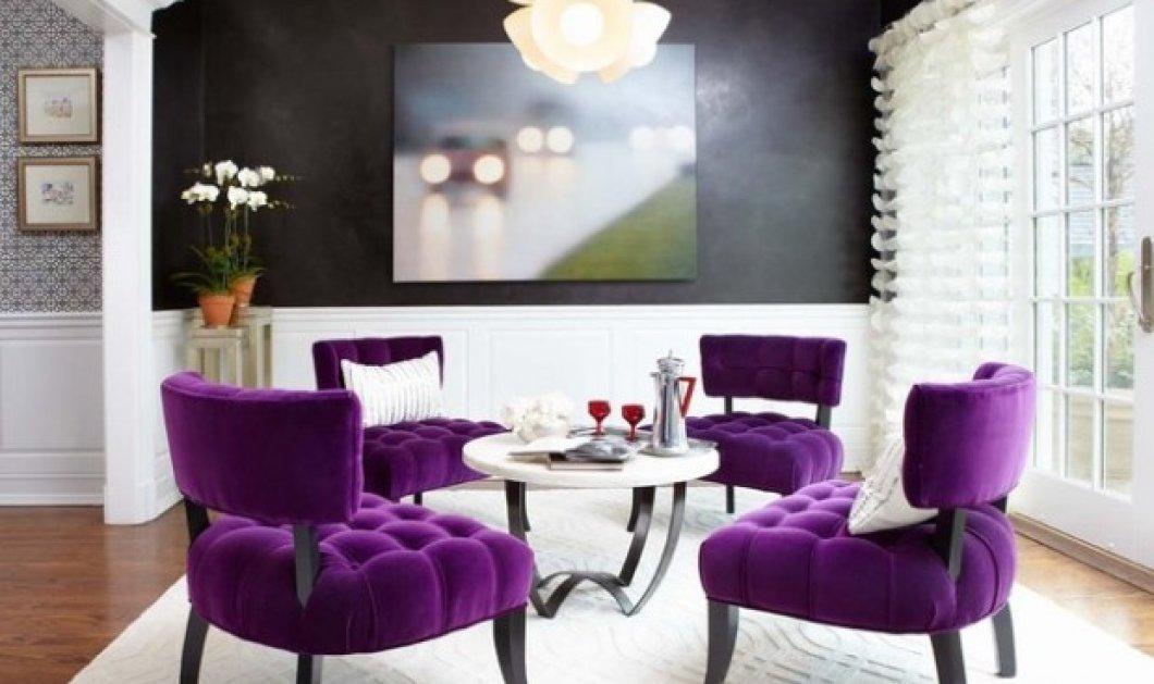 Ο Σπύρος Σούλης δίνει εντολή:  Το μοβ επιστρέφει - Βάλτε στο σπίτι σας το χρώμα της λεβάντας - Κυρίως Φωτογραφία - Gallery - Video