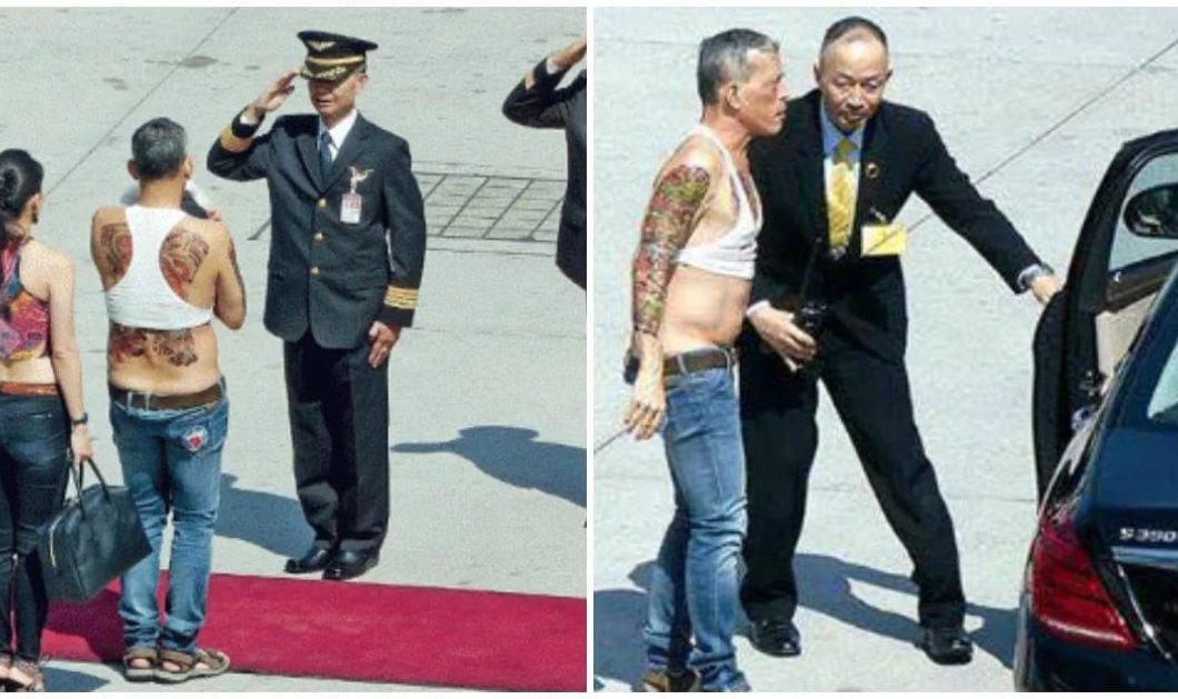 Αυτός με τα τατουάζ, το βρώμικο crop - top & την σέξι σύζυγο θα είναι ο νέος βασιλιάς της Ταϊλάνδης - Κυρίως Φωτογραφία - Gallery - Video